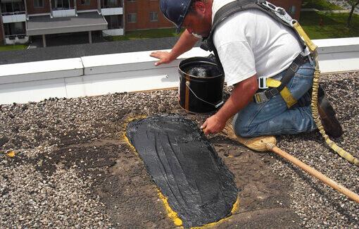 Flat roof repair in Auckland